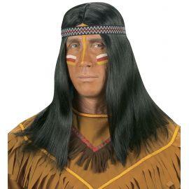 Peluca indio con cinta