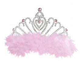 Corona princesa con marabu