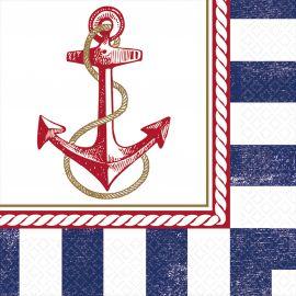 Servilletas fiesta marinera pack 16
