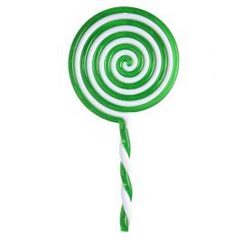 Piruleta lollipop verde 22cm