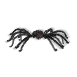 Araña negra gigante animada 165cm