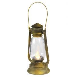 Farol linterna con luz parpadeante 25cm