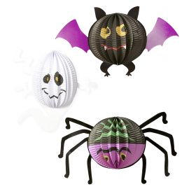 Set faroles halloween