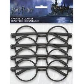 Pack 4 gafas redondas harry potter
