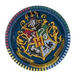 Platos harry potter 18 cm pack 8