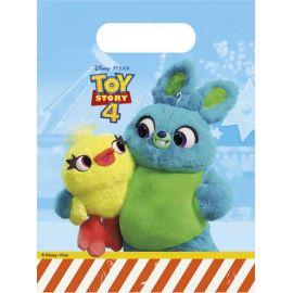 Bolsas con asas toy story 4 pack 6