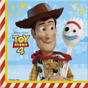 Servilletas toy story 4 pack 20