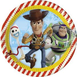 Platos toy story 4 23 cm pack 8