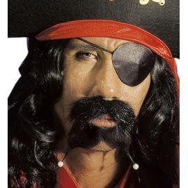 Bigote pirata perlas