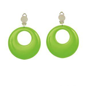 Pendientes neon verdes