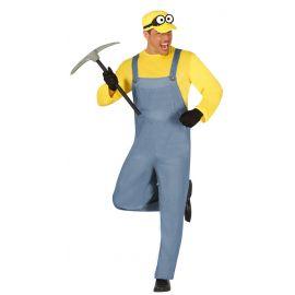 Disfraz miniero amarillo