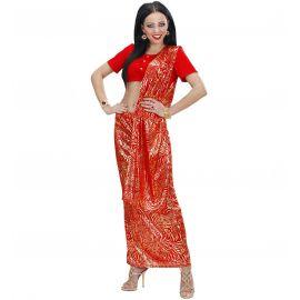 Disfraz boolywood sari