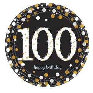 Platos celebracion 100 cumple