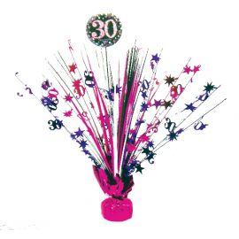Peso centro de mesa 30 rosa
