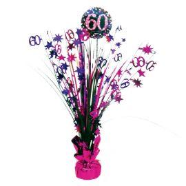 Peso centro de mesa 60 rosa