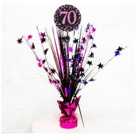 Peso centro de mesa 70 rosa