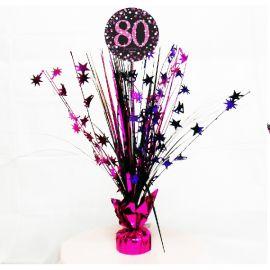 Peso centro de mesa 80 rosa