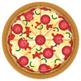 Platos pizza pack 8 23 cm