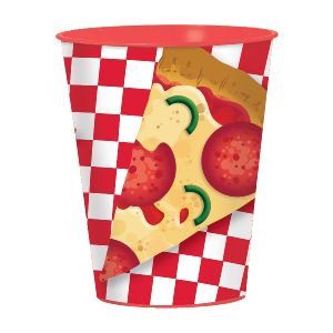 Vaso plastico pizza