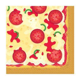 Servilletas pizza pack 16