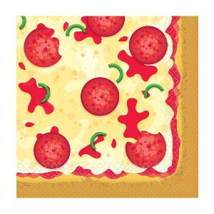 Servilletas pizza pack 16