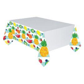 Mantel frutas tropicales 130 x 240