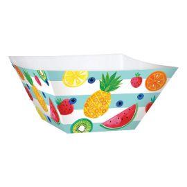 Pack 3 bowls frutas tropicales 30cm