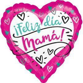 Globo helio feliz dia mama