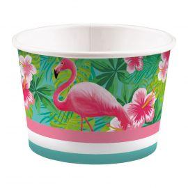 Bowls flamenco rosa pack 8