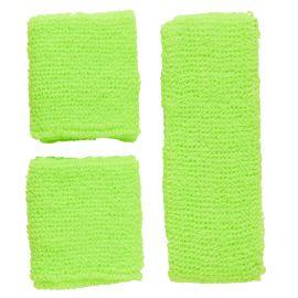 Set banda verde neon y pulseras