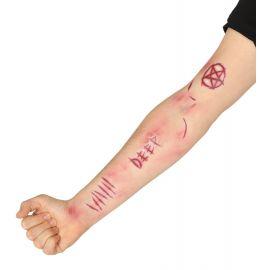 Tatuajes cicatrices demonio