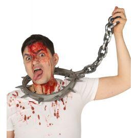 Collar castigo con cadena 80cm