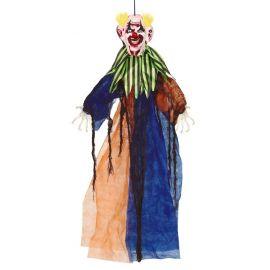 Payaso colgante sonriente con luz 90cm
