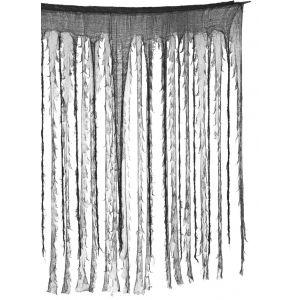 Cortina negra y gris 150x190cm