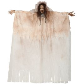Mujer poseida colgante con luz 180cm