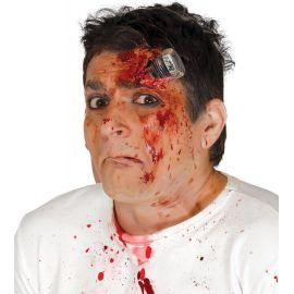 Cicatriz herida tornillo