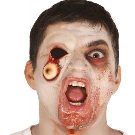 Cicatriz ojo colgando latex