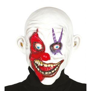 Mascara payaso sonriente latex