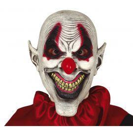 Mascara payaso sarcastico latex