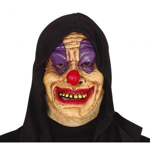 Mascara payaso con capucha