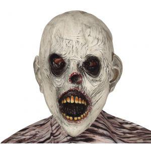 Mascara zombie blanco latex