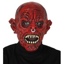 Mascara monstruo rojo latex