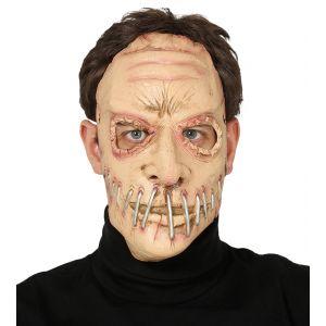Mascara boca grapada latex