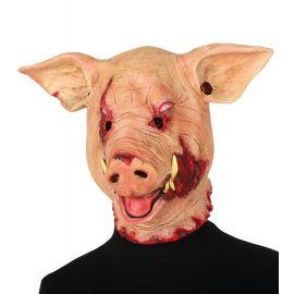 Mascara cerdo terror latex