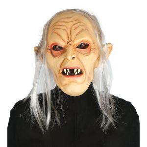 Mascara monstruo de la cueva con pelo