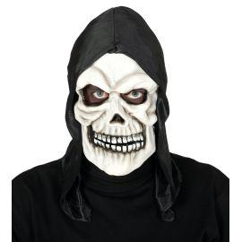 Mascara calavera con capucha