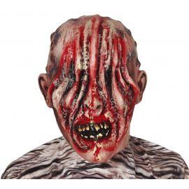 Mascara zombie sin ojos latex
