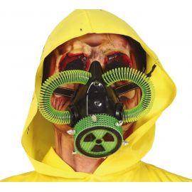 Mascara de gas radioactivo