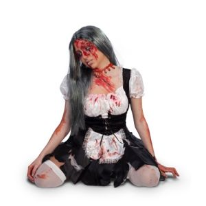 Collar sangrante zombie