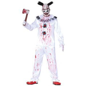 Disfraz payaso blanco asesino